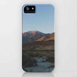 Mt San Jacinto - Pacific Crest Trail, California iPhone Case