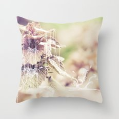 the fountain 2 Throw Pillow
