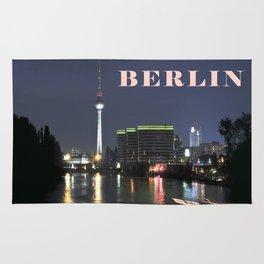 Night at river Spree - BERLIN Rug