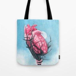 Heart's Apart Tote Bag