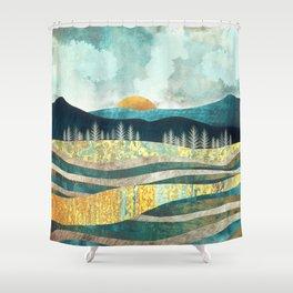 Late Summer Shower Curtain