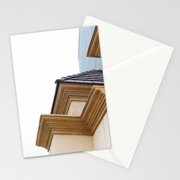 buildings in the city Stationery Cards