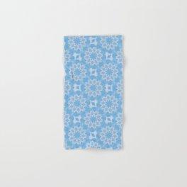 Blue & White Seamless Kaleidoscope Hand & Bath Towel