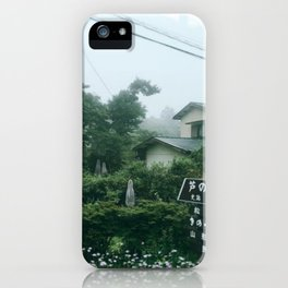 Ghosts in Hakone Part 1 iPhone Case