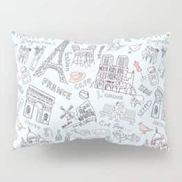 Bonjour Paris! Pillow Sham