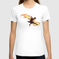 zuko T-shirts featuring Fight Fire With Fire by Junryou