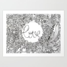 all about Art Print