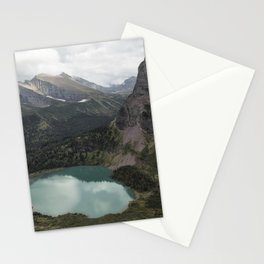 Grinnell Lake from the Trail No. 2 - Glacier NP Stationery Cards