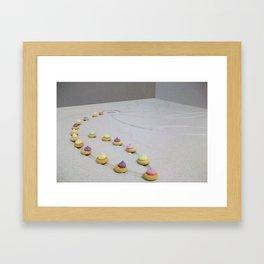 Shower Gems Framed Art Print