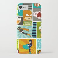 superheroes iPhone & iPod Cases featuring Superheroes! by EloisaD