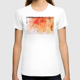 Red Abstract Art - Taking Chances - By Sharon Cummings T-shirt