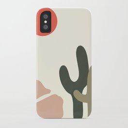 abstract desert 1 iPhone Case