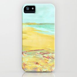 Mellow Beach iPhone Case