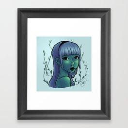 Cool Ivy Framed Art Print