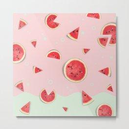 Summer Love - Watermelon Metal Print