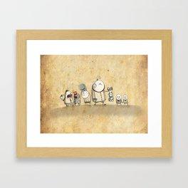 The Circus Framed Art Print