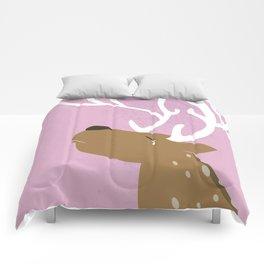 Crying Deer Comforters