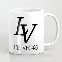 lv Mugs featuring LV by Joe Alexander
