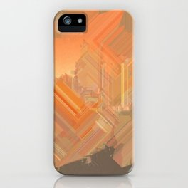 sun.beams iPhone Case