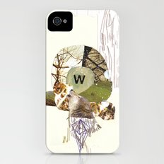 W is for Wolf iPhone (4, 4s) Slim Case