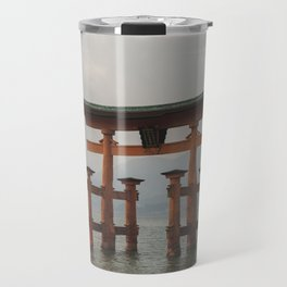 Itsukushima Shrine Travel Mug
