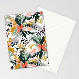 Botanical brush strokes I Stationery Cards