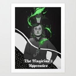 The Magician's Apprentice Art Print