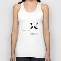 gangster Tank Tops featuring Gangster by Larice Barbosa