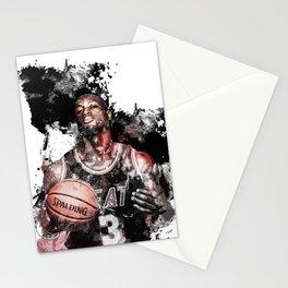 Miami basketball Stationery Cards