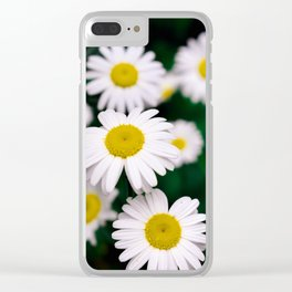 Pushing Up Daisies Clear iPhone Case