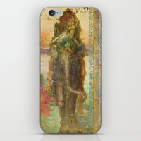 lily iPhone & iPod Skins featuring Lily by Aimee Stewart