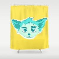 elf Shower Curtains featuring Elf by Gabriel