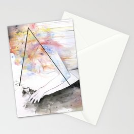 two different lights Stationery Cards