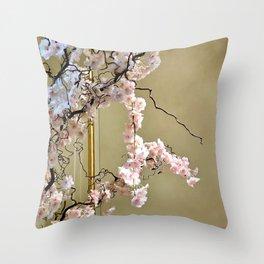 Ritzy Cherry Throw Pillow