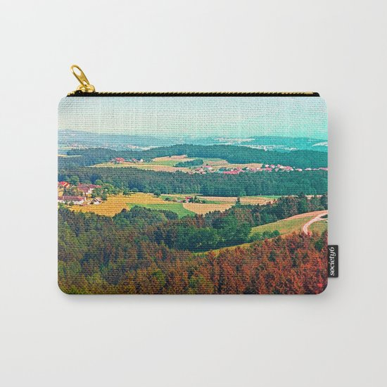 Spring, hot sun, and lots of scenery Carry-All Pouch
