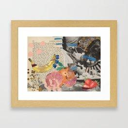 SUMMER STRANGER Framed Art Print