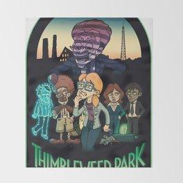 Thimbleweed Park Throw Blanket