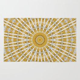 Kaleidoscope Chips in Paper Pattern Rug
