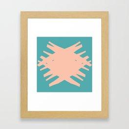 Accordian Summer X Framed Art Print