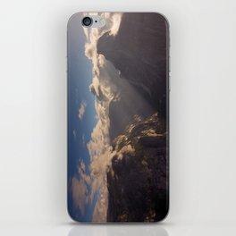 Sunrays Over Half Dome iPhone Skin