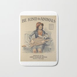 Be Kind To Animals 4 Bath Mat