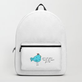 Sassy Bird Backpack