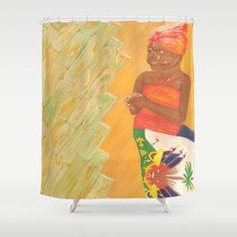 Lil Haiti Shower Curtain