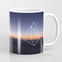geometry Mugs featuring Geometry by Geometry