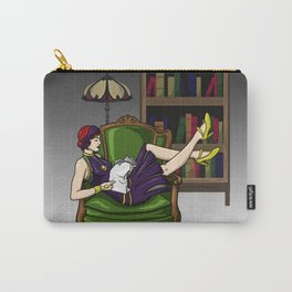 Well-Read Batgirl Carry-All Pouch