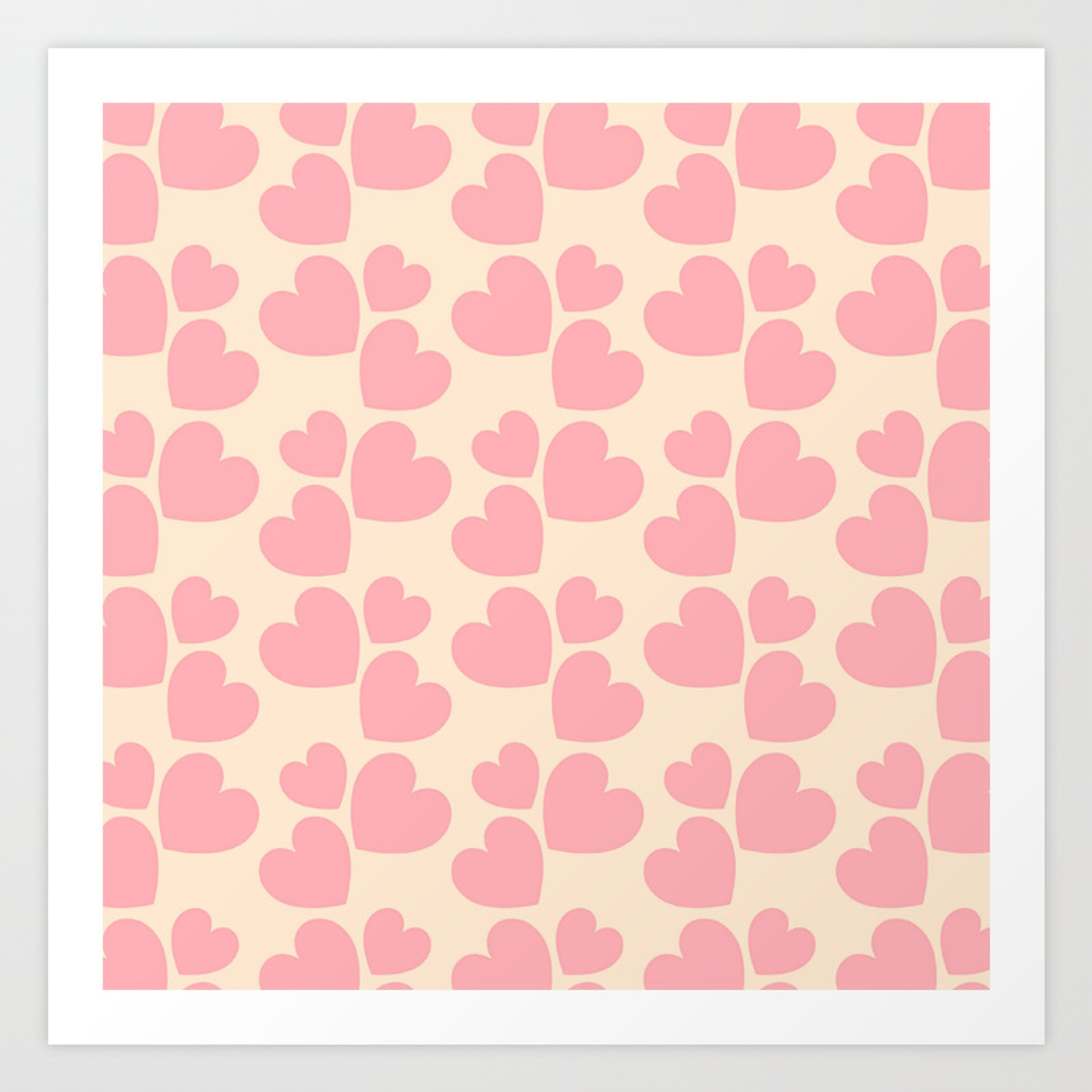 Pictures of love hearts to print