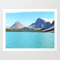 Waterfowl Lake Art Print