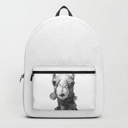 Black and White Camel Portrait Backpack