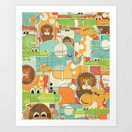 Bungle Jungle Art Print