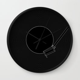 Turntable Wall Clock
